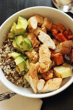 Easy Chicken Quinoa Bowl | Good Cheap Eats