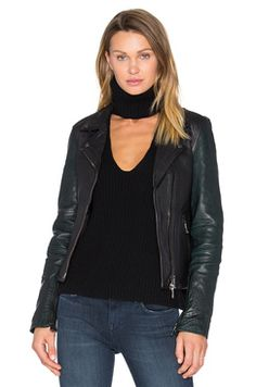 b4d51c101d473 Revolve Sadie Leather Moto Jacket baldwin Found on my new favorite app Dote  Shopping  DoteApp