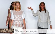 Tibi Spring 2013 collection #BelleMonde #Fashion #NewYorkFashionShow2013