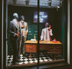"""CHARLES TYRWHITT, Jermyn Street, London, UK, """"This is Dave. I'm not here right now... or am I? If I am not here, how am I recording this greeting? While I ponder that, leave me a message"""", photo by Retail Focus, pinned by Ton van der Veer"""
