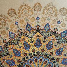 Tezhib Motifs Islamiques, Islamic Motifs, Islamic Art Pattern, Pattern Art, Motif Oriental, Illumination Art, Persian Pattern, Circle Art, Arabic Art