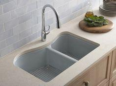 #activehomecentre #faucet #sink #cabinet #countertop #granite #tile #backsplash
