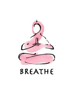 Breath meditation, a bicep curl for your mind. Dan Harris (yoga art watercolor print BREATHE by LindsaySatchell on Etsy) Yin Yoga, Yoga Meditation, Meditation Space, Meditation Quotes, Meditation Images, Meditation Tattoo, Meditation Methods, Yoga Mantras, Yoga Inspiration
