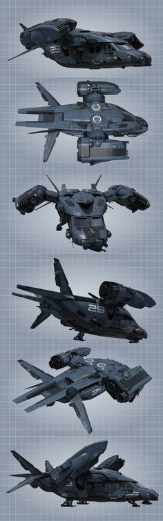 Atmospheric personel carrier. by NovA29R. Transport, future, flying, drawing, concept art, cg: