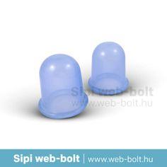 Cellulitisz elleni (anticellulitisz) szilikon köpöly készlet. 2 db-os
