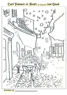 Artist of the Month-Monet monet coloring pages for kids