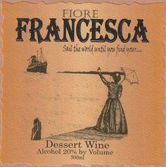 Dessert Wine.  NV Fiore Winery Francesca 500 mL * More details @ http://www.amazon.com/gp/product/B00E8POXMO/?tag=wine3638-20&pab=160816100732