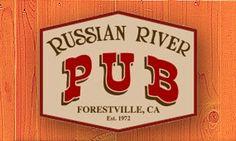 Diners, Drive ins & Dives: Russian River Pub Forestville, CA Est. 1972