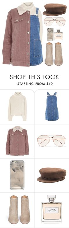 """""""Untitled #113"""" by kell-a ❤ liked on Polyvore featuring Proenza Schouler, Topshop, River Island, Linda Farrow, Casetify, Maison Michel, Aquazzura and Ralph Lauren"""