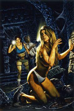 Tomb Raider / The Greatest Treasure  of All / Inside / 2000  (Joe Jusko)
