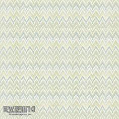Rasch Textil Waverly Small Prints 23-007790 hell-grün Zick-Zack