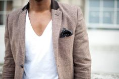 Casual outfit with blazer Sharp Dressed Man, Well Dressed Men, Look Fashion, Mens Fashion, Fashion Menswear, Street Fashion, Fashion Models, Mode Chic, Men's Clothing