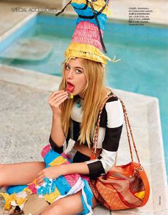 Party Animal: Elle France March 2013