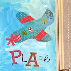 Dress up a bare wall with the Get Movin' - Plane Canvas Wall Art from Oopsy Daisy. Canvas wall art is perfect for adding color and style to bedrooms, playrooms, nurseries and even bathrooms!