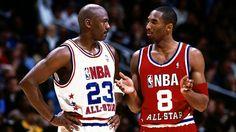 Michael Jordan and Kobe Bryant Allstar game.