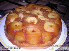 Trebuie sa o incerci - Tarta rasturnata cu mere - BZI. Merida, Romanian Food, Romanian Recipes, Recipe R, Alcohol Free, Dessert Recipes, Desserts, Sweet Tooth, Oatmeal
