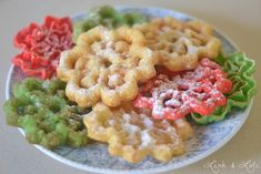 Rosettes Cookie Recipe, Rosette Recipe, Rosette Cookies, Christmas Deserts, Christmas Treats, Christmas Baking, Holiday Treats, Christmas Brunch, Holiday Baking