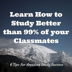 If you're tired of hearing the same old study advice, then you might like to check out our unusual tips for learning how to study better.