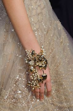 Elie Saab - The Cut - Puts the corsage to SHAME. Would be happy to rock this on my wedding day, bt-dubs. #thecut #nymag