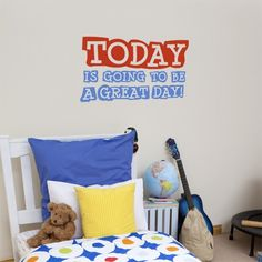 CoolWallArt.com: Great Day Wall Decal, $39.95