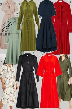 Popular Dresses, Women Lifestyle, Dress Silhouette, Shirtdress, Royal Fashion, Spring Collection, Design Your Own, Couture Fashion, Street Style