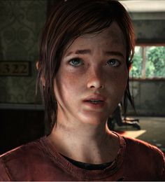 """Ellie - young, female protagonist from """"The Last of Us"""""""