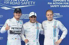 Austria 2014 qualifying result: Massa, Bottas and Rosberg