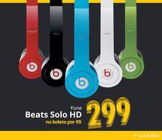 #Fone de ouvido #Beats by Dr.Dre R$ 299 (boleto) Oferta #BlackFriday #Submarino