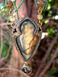 Beautiful Labradorite Necklace <3