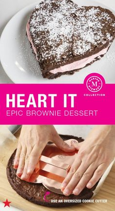 Valentine's Day is a holiday that celebrates love—and is best enjoyed with lots of sweet treats (if you ask us!). Whether you are baking for the one you love or gathering the squad for a Galentine's Day bash, this epic, fudgy, heart-shaped brownie dessert is the way to go. Bake it yourself all with a little help from the Martha Stewart Collection. Shop now!