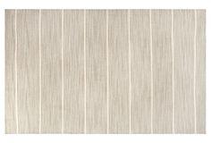 Perth Flat-Weave Rug, Gray/Ivory on OneKingsLane.com, 5' x 8' $299