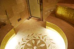 "#Mosaic: #Karma #Mirage 009 (2 x 2 cm ∙ 3/4"" x 3/4"") - Private #residence - Doha, Qatar"