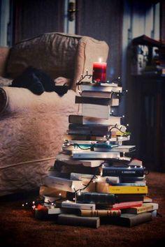 #Books #Tree #Christmas