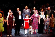 1977 Annie on broadway photos | ... Annie Opens on Broadway; Curtain Call, Red Carpet Arrivals and Cast