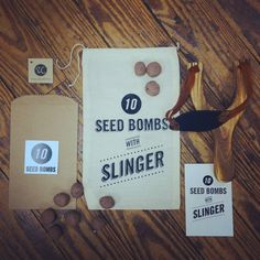 10 Seed Bombs with Slinger