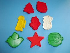 8 Hallmark Christmas Mini Cookie Cutters by AnEclecticEccentrica