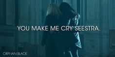 You make me cry seeeestra. #OrphanBlack pic.twitter.com/oRvCFNBxkv
