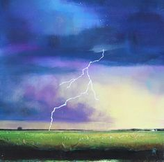 Strike From The Heavens Painting by Toni Grote