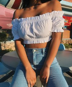 Imagem de fashion, outfit, and style Hi Fashion, Fashion Outfits, Womens Fashion, Style Fashion, Crop Top Outfits, Summer Outfits, Stylish Outfits, Cute Outfits, Mall Outfit