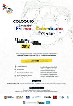 Coloquio:Encuentro Franco-colombiano de Geriatría   Central Informativa del Adulto Mayor