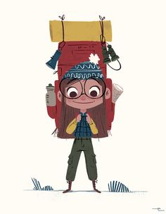 The Little Backpacker & the Boy Scouts on Behance