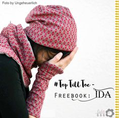 Freebook: Ida with cuffs and loop : The TopTillToe – Ida consists of three cuts that are tailored to the body of your family. – Freebook: Ida is now available for you! What is included *** Yes, a hat! A beanie! Sewing Patterns Free, Free Sewing, Free Pattern, Sewing Hacks, Sewing Tutorials, Sewing Tips, Diy Mode, Diy Couture, Sewing Accessories