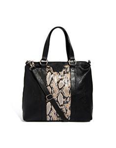 Pieces Aurelia Black Shoulder Bag