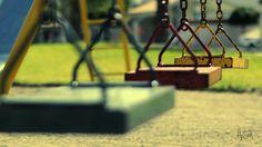 Colorful metal Swings   by hesor_