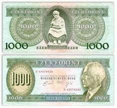 Hungary 1000 Forint (B. Folk Music, Budapest, Karma, 1, Bank Account, Sculpture, Vintage, Hungary, Report Cards