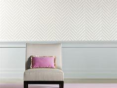 Papier peint à motifs géométriques en vinyle VAWE - Dedar