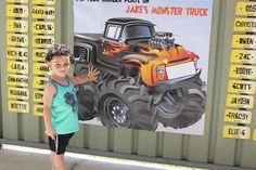 Jake's Monster truck party | CatchMyParty.com