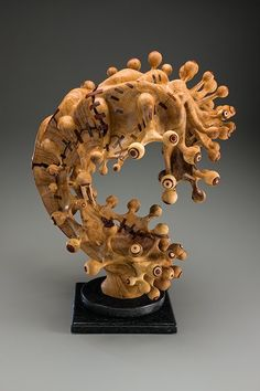 For Minnesota-based artist Tim Byrns, his distinctive creations made from reclaimed wood are as much about process as product. Not only do they resemble some of nature's most interesting and bizarre forms, like strange sea creatures or bulbous jungle fungi—they also embody nature's constant cycle of destruction and renewal.