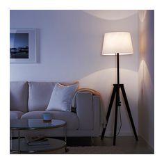 $50 - no shade - LAUTERS Floor lamp base with LED bulb  - IKEA