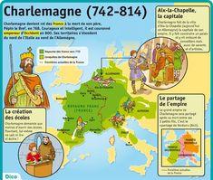 Fiche exposés : Charlemagne: